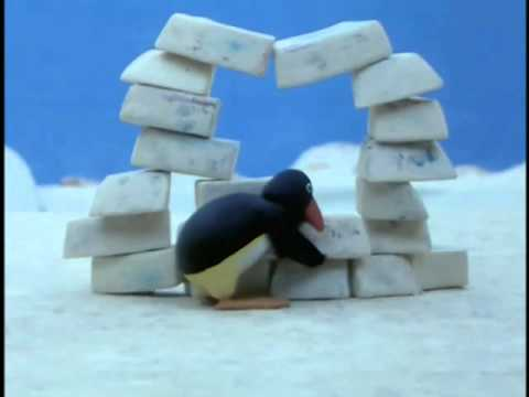 Pingu: Pingu builds an Igloo