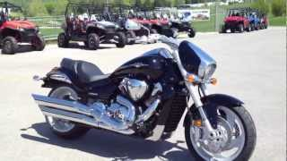 1. 2012 Suzuki Boulevard M109R in Black at Tommy's MotorSports