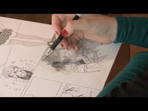 comment colorier une planche de bd