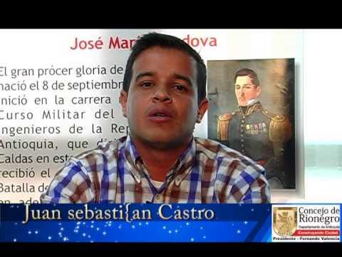 Concejal rionegrero Juan Sebastián Castro