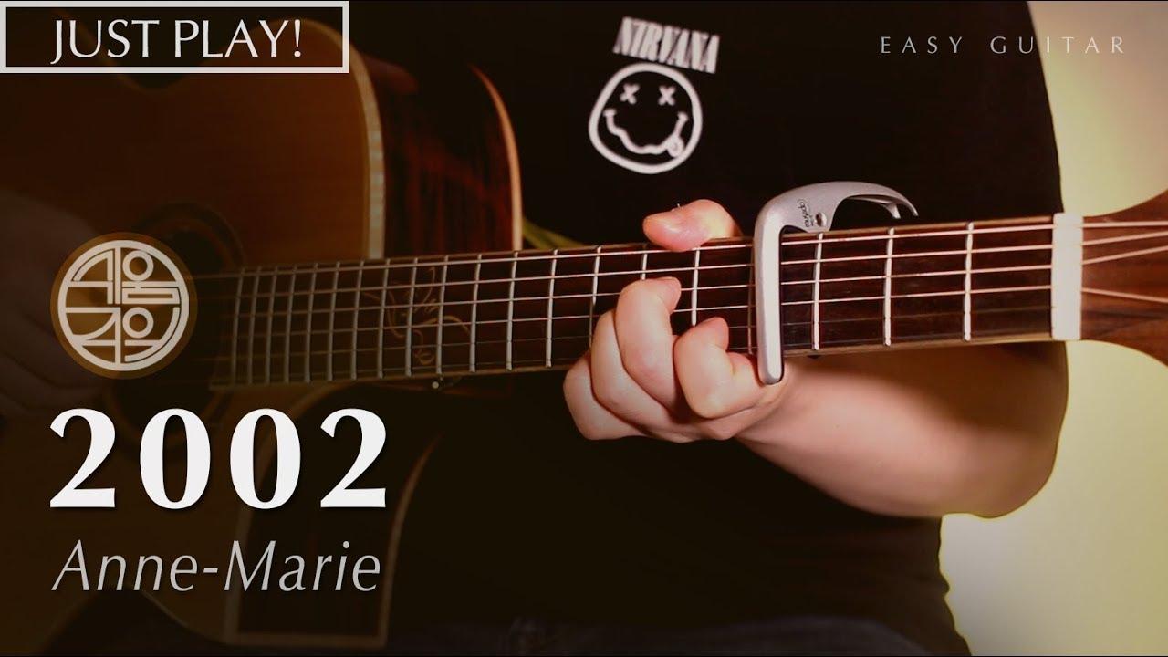 2002 – Anne-Marie [연주 l Acoustic Guitar Cover l 통기타 커버 ]