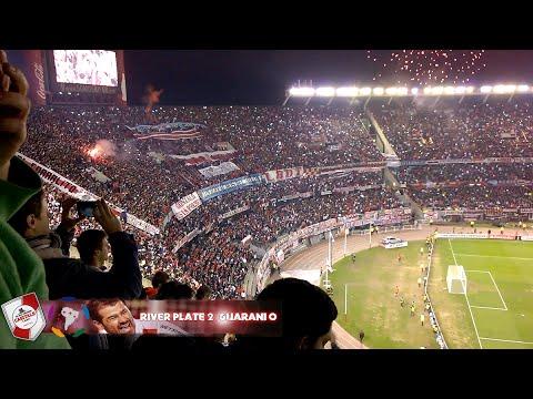 Video - RECIBIMIENTO AL  MAS GRANDE - River Plate vs Guaraní - Copa Libertadores 2015 - Los Borrachos del Tablón - River Plate - Argentina