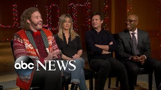 Nonton Office Christmas Party | Full Cast Interview with Jennifer Aniston, Jason Bateman, & More Film Subtitle Indonesia Streaming Movie Download