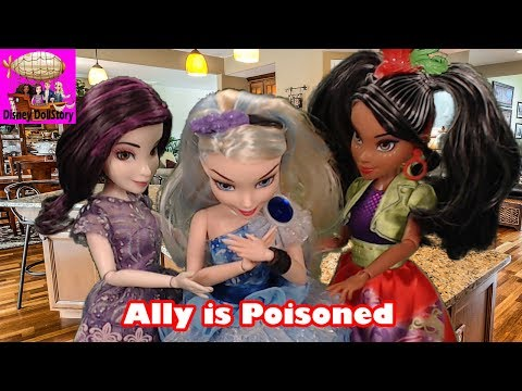 Ally is Poisoned - Part 5 - Whodunnit Island Mystery Descendants Disney