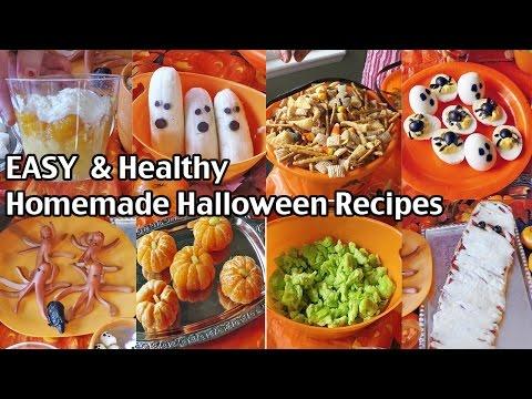 Easy And Healthy Homemade Halloween Food Ideas – Halloween Alternatives