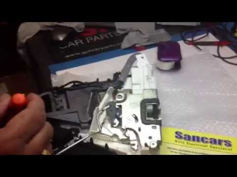 Mercedes A/B/ML Class W169/W245/W164 Door Lock Actuator Repair