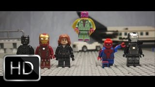 Video Captain America: Civil War Airport Scene in Lego MP3, 3GP, MP4, WEBM, AVI, FLV Mei 2019