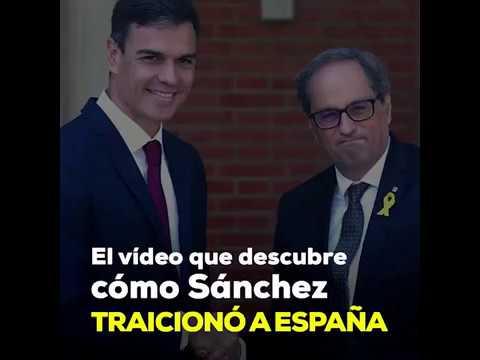 El vídeo que descubre cómo Sánchez traicionó a España