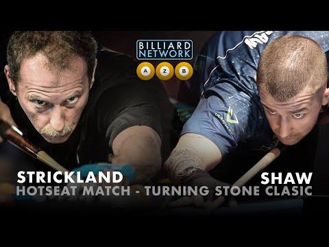 Fastest Hotseat Match - Earl STRICKLAND - Jayson SHAW - Turning Stone Classic - 9 BALL