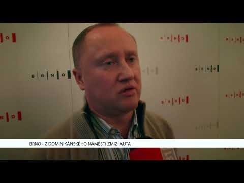 TV Brno 1: 23.11.2017 Z Dominikánského náměstí zmizí auta