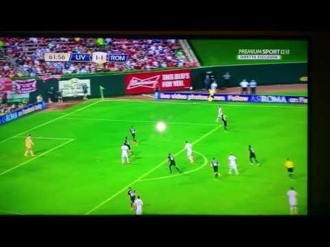 Liverpool roma 1-2 goal dzeko