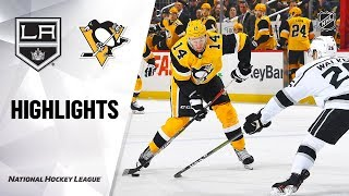 NHL Highlights | Kings @ Penguins 12/14/19 by NHL