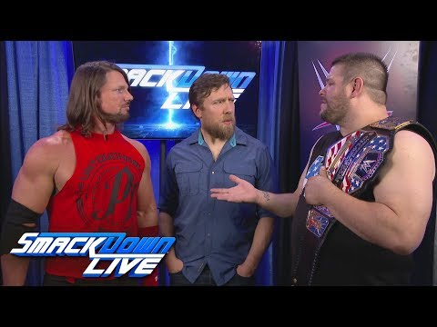 Will AJ Styles get to challenge Kevin Owens for the US Title?: SmackDown LIVE, June 27, 2017_Sport videók