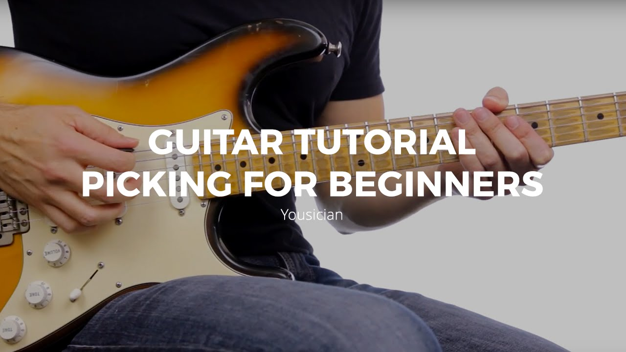 Guitar Tutorial – Picking For Beginners