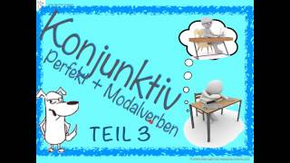 Learn everything about the German Subjunctive /Conjunctive III - PART 3: More Exercises and Modal Verbs + Past. Learn everything about the form, function, examples, exercisesIn this third video: Practise the conditional clause of the past tense with focus on modal verbs. Learn how to build the German Subjunctive/ Conjunctive II in the past tense with modal verbs. JOIN me on Patreon! https://www.patreon.com/FreeGermanLessons Credits for the used pictures:Boys and girls dreaming and having wishes: thanks to fotolia.com, © cirodeliaThe German Subjunctive ist not so easy. But with a lot of examples and step-by-step explanations, it will be clear!How do you build the Konjunktiv II in the past tense with modal verbs?It is actually very easy:hätte +INFINTIV+ Modalverb im InfinitivHerr Müller ist sehr unglücklich. Er hat einen langweiligen Job.Er denkt: Wenn ich doch Musiker wäre! EXAMPLESIch hätte mehr üben sollen!Ich hätte nicht so viel fernsehen dürfen!Ich hätte mehr lernen sollen!TRANSLATIONI should have practised more! I shouldn't have watched TV so much! I should have learned more!EXAMPLES 2Herr Müller ist auch unglücklich, weil Frau Müller nicht mehr bei ihm ist. Sie hat sich getrennt von ihm. Traurig denkt er:Ich hätte romantischer sein müssen!Ich hätte mehr Komplimente machen sollen!Ich hätte mehr Zeit verbringen müssen!Join my Facebook group to practice every day: https://www.facebook.com/freeGermanCoursesWithAnnaJoin me on google+  https://goo.gl/55syNLLet's tweet on Twitter: https://twitter.com/FreeGermanAnnaLearn with my eBooks! Buy eBooks for less than 3€ - and support me and my Channel :-)http://www.free-german-lessons-online.com/ebooks/