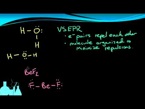 frownifdown - An introduction to how electron pair repulsion (VSEPR) affects the arrangement of atoms in a molecule. We also discuss the relationship between a Lewis Struc...
