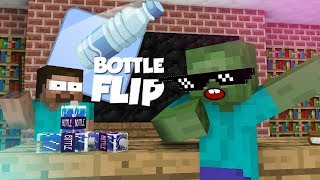 Video Monster School: Bottle Flip Challenge VS GRANNY - Minecraft Animation MP3, 3GP, MP4, WEBM, AVI, FLV September 2018