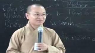 Thành duy thức luận 5: Vô ngã và hành vi - Thích Nhật Từ