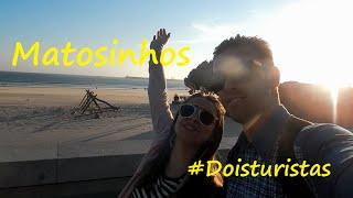 Matosinhos Portugal  city photos gallery : Dois Turistas - Praia de Matosinhos -Porto, Portugal