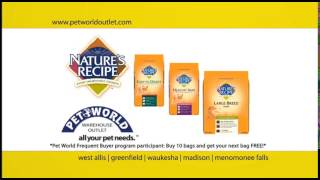Pet World Outlet - Nature's Recipe