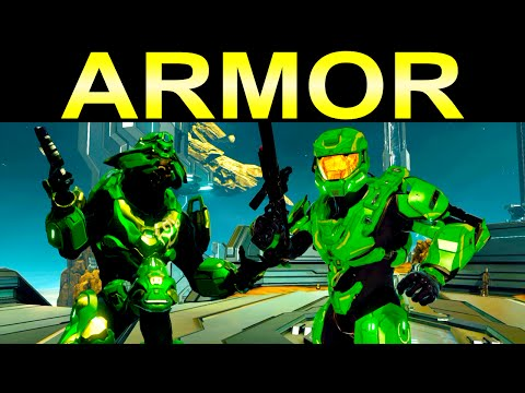 Halo 2 Anniversary armor customization...