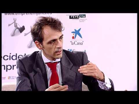 Isaac Martín- Barbero en el Día de la Persona Emprendedora de la CV