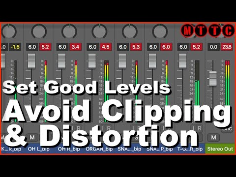 How to Set Levels to Avoid Clipping & Distortion in Your Logic Pro X Audio Production