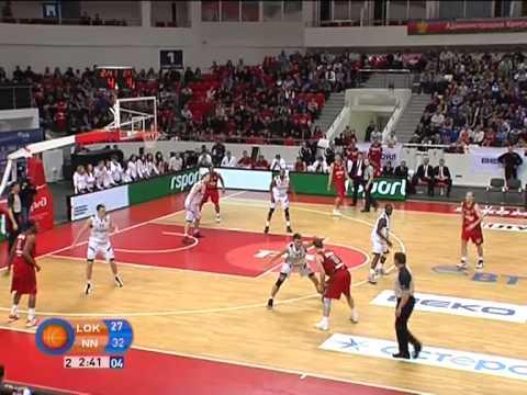 Lokomotiv-Kuban - Nizhny Novgorod Highlights. 03.02.2013 (видео)