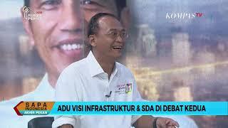 Video Dialog – Adu Visi Infrastruktur dan SDA di Debat Kedua (3) MP3, 3GP, MP4, WEBM, AVI, FLV Februari 2019