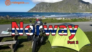Ep 19 - Norway (part 2) - Motorcycle Trip around Europe