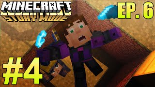 """Minecraft: Story Mode: Episode 6 """"A Portal to Mystery"""" Part 4 - WHAT IS THE TWIST?"""