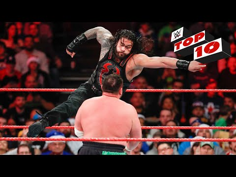Top 10 Raw moments: WWE Top 10, December 25, 2017