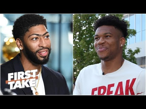 Video: Giannis or Anthony Davis: Who is the best active NBA player without a ring? | First Take