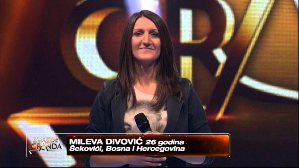Mileva Divovic – Evo zima ce – Zvezde granda 2014-2015 – emisija 8 (08. 11. – ženska grupa)