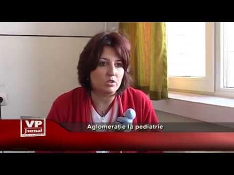 Aglomerație la pediatrie