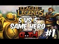 League of Legends - TODOS GAREN MID! en Español - GOTH