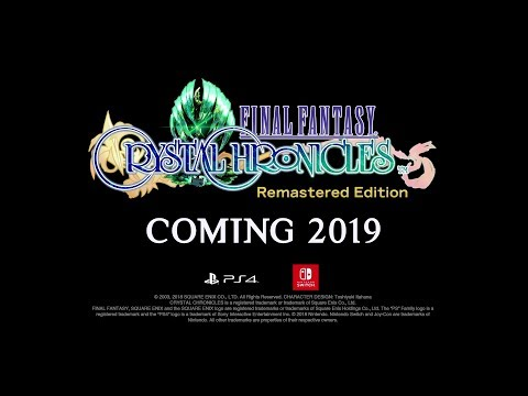 Final fantasy Cristal Chronicles Remastered : Announcement Trailer