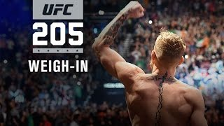 Download Video UFC 205: Official Weigh-in MP3 3GP MP4