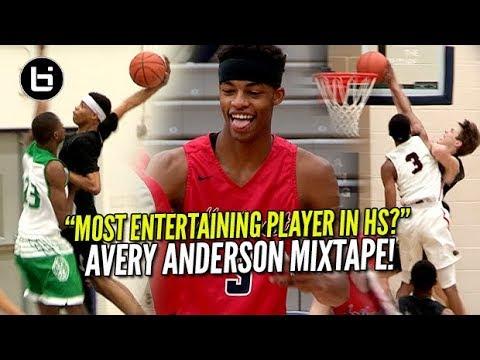 """Most Entertaining Player In High School?"" Avery Anderson Ballislife Mixtape!"