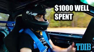 Cheap E36 Drift Build RIPS On Go Kart Track! - The Final Episode DIRTE36 by That Dude in Blue
