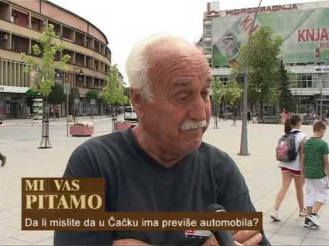 МИ ВАС ПИТАМО: Да ли у Чачку има превише аутомобила на улицама?