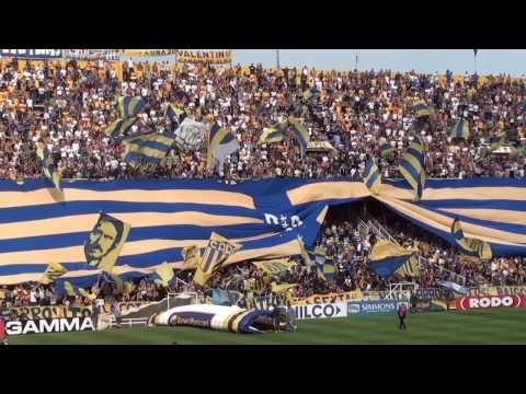 """""""Recibimiento"""" - Rosario Central (Los Guerreros) vs Patronato - 2016 - Los Guerreros - Rosario Central"""