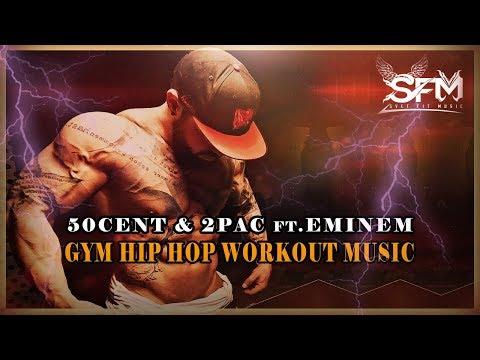 50cent & 2Pac ft.Eminem - Best Gym Hip Hop Workout 2017 - Svet Fit Music