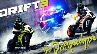 Уникална Дрифт Битка - Кола срещу Мотоциклет!!!