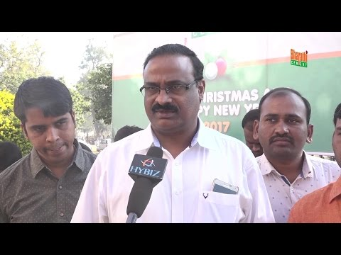 Kondal Reddy Bharathi Cement Christmas Celebration