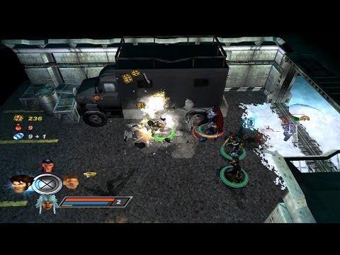 x-men legends gamecube walkthrough