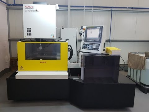 Wire Electrical Discharge Machine Fanuc ROBOCUT ALPHA C600IA 2016-Photo 2