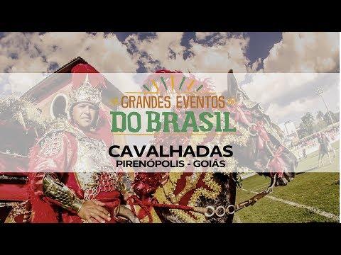 Grandes Eventos do Brasil - Cavalhadas - Pirenópolis (GO)