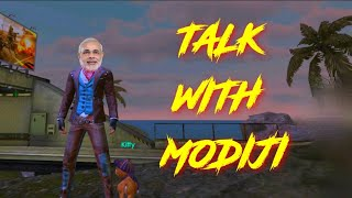 PLAYING WITH MODIJI , SAYING ABOUT MEMBERSHIP  | GAME IS NOT OPEN || -GARENA FREEFIRELIVE