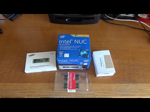 Intel NUC NUC5i7RYH Unboxing and Setup